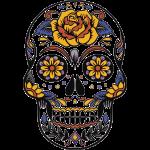 skull mexiko
