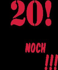 20. Geburtstagsshirt: fragen_20