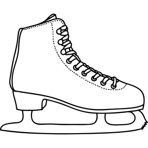 SCHLITTSCHUH Eiskunstlauf