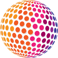 Dotted Rainbow Sphere