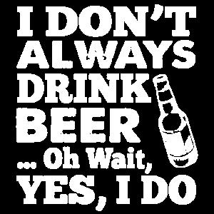 Bier-lustiges Hemd