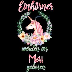 Einhorn Geburtstag Geschenk Mai bday unicorn