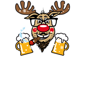 89 Rudolph This is my UGLY Christmas Sweater Fun