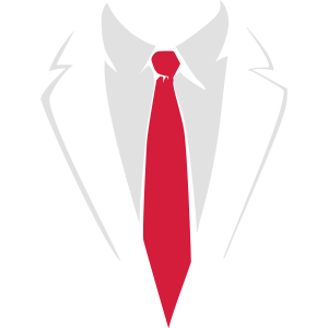 Anzug mit Krawatte
