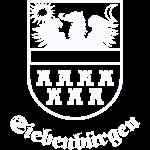 """Wappen Siebenbürgen """"Siebenbürgen"""" weiss"""