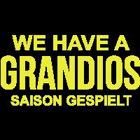 Grandios Saison -  - Meister