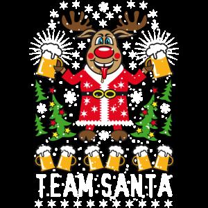 90 Hirsch Rudolph Bier Team Santa on Tour Beer