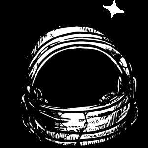 Hipster Astronaut Helm