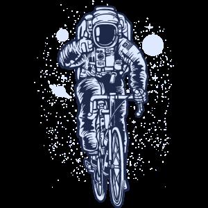 Astronaut Fahrrad