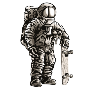 Astronaut Skater