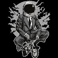 Fahrrad zum Mond