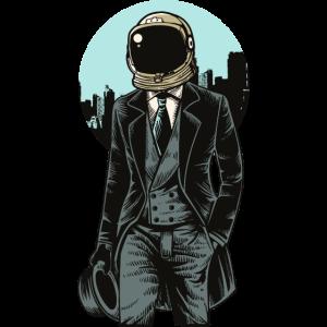 Klassischer Astronaut