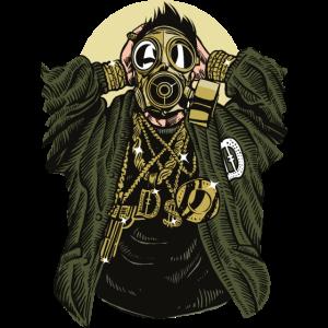 Gasmaske Gangsta