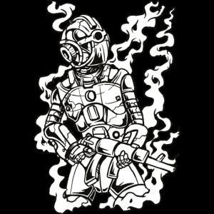 Roboter-Soldat