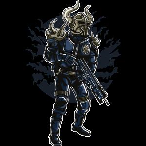 Wikinger-Soldat