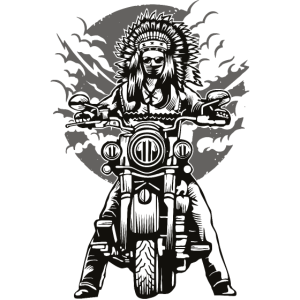 Indisches Hauptmotorrad