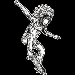 Indisches HauptSkateboard