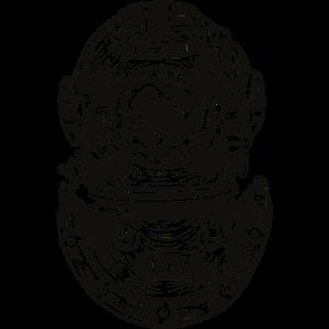Taucher Krake