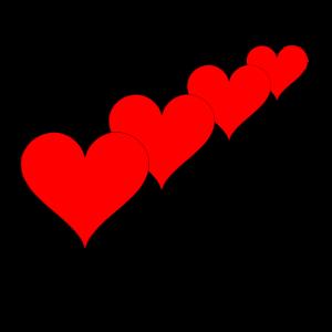 Liebe Rose Valentinstag Liebende Liebespaar Herz