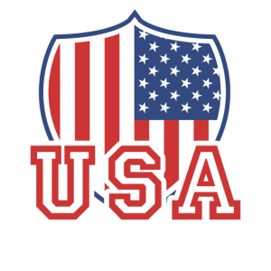 USA TShirt Flag Vintage US Shield