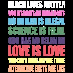 Schwarzes Leben-Angelegenheits-Shirt