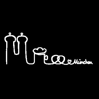 München - Eine Hommage an die schönste Stadt der Welt! - beer,brezel,muc,breze,bier,herz,bavaria,brezn,heart,bayern,skyline münchen,munich,München,oktoberfest,beerfest,frauenkirche,münchen