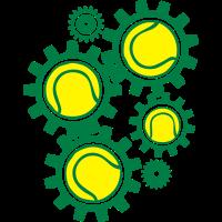 Tenniszahnradgetriebe getriebe in ori