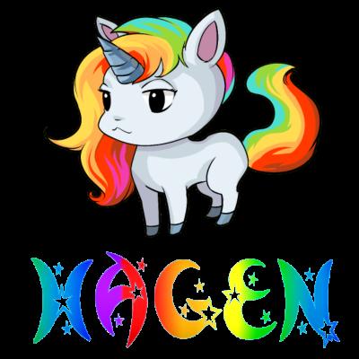 Hagen Einhorn - Hagen Einhorn Design für Hagen. - Hagen Geburtstag,Hagen Einhörner,Hagen Einhorn,Hagen süss,Hagen Geburt,Hagen Geschenke,Hagen,Hagen Geburtstagsgeschenk,Hagen Geschenk