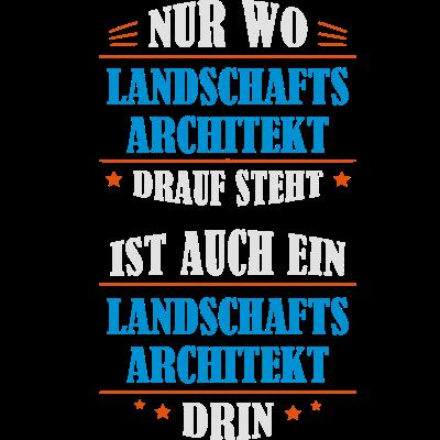 Ein Landschaftsarchitekt