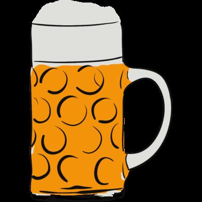 Maßkrug -  - freedesigns17,Oktoberfest,Masskrug,Bier,Bayern