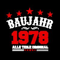 BAUJAHR 1978 Original Legende Geburtstag Geschenk