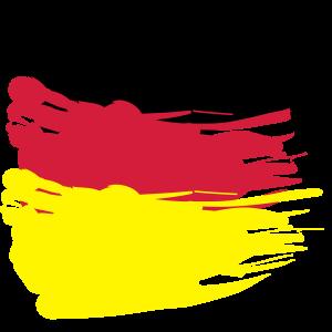 Deutsche Flagge vintage