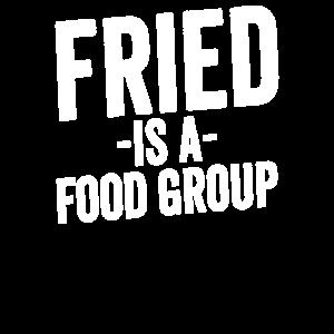 Gebraten ist ein Nahrungsmittelgruppen-Geschenk