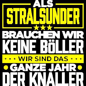 STRALSUNDER - Böller