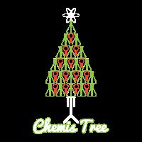 Chemis Tree Chemie Weihnachtsbaum Geschenk