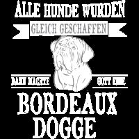 Bordeaux Dogge Shirt-Alle gleich