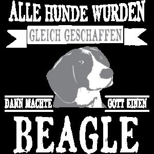 Beagle Shirt-Alle gleich