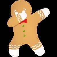 Christmas Cookie - Dabbing Dab Dance Gift