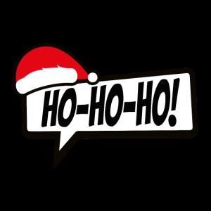 Ho Ho Ho Xmas Sprechblase