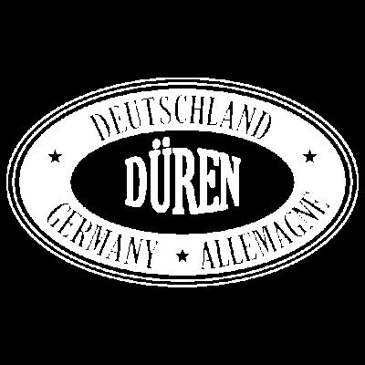DÜREN Städte Shirt - Düren Stadt Shirt - rheinland,Stadt,NRW,Köln,Geschenk,Düren,Deutschland