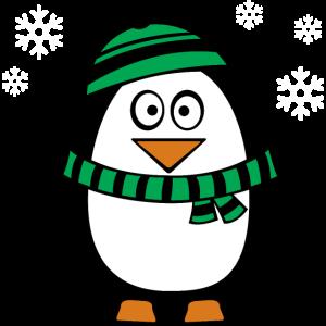 Pinguin Winter Kalt Frost Schnee Geschenk Shirt