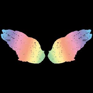Regenbogen Flügel Flugmodus