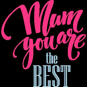 Mama du bist der Beste
