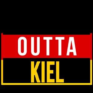 Straight outta Kiel Kieler Kielerin Geschenk