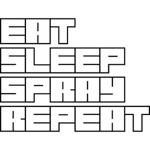 EATSLEEPSPRAYREPEAT