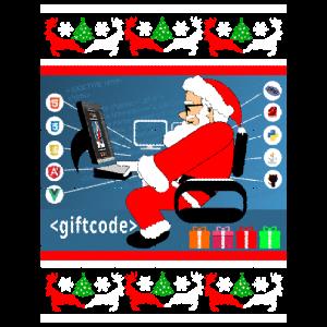 Programmierer Geschenk Ugly Christmas Sweater