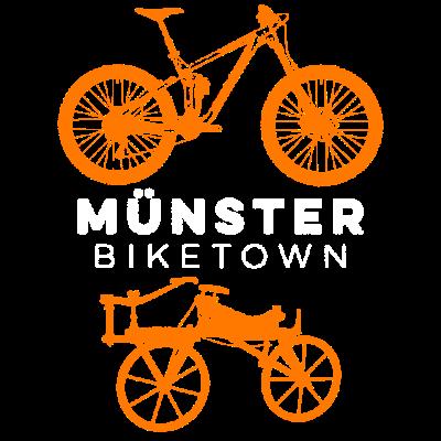 Münster, Fahrradstadt Nr. 1 in Deutschland - Münster ist die Fahrradstadt Nr. 1 in Deutschland - da passt dieses Shirt - auch wenn der Drahtesel nicht in Münster erfunden wurde. - rad,fahrrad,bike,bicyclette,Münster,Geschenk,Fahrräder,Fahrradstadt,Deutschland