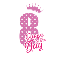 Queen of the day - 8 Geburtstag - Bday