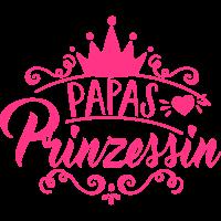 Papas Prinzessin - Krone - Baby - Kind - Geschenk
