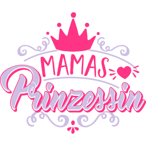 Mamas Prinzessin - Krone - Baby - Kind - Geschenk